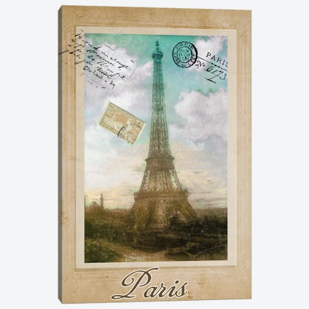 European Vacation II Canvas Print #CBY358} by Color Bakery Canvas Artwork