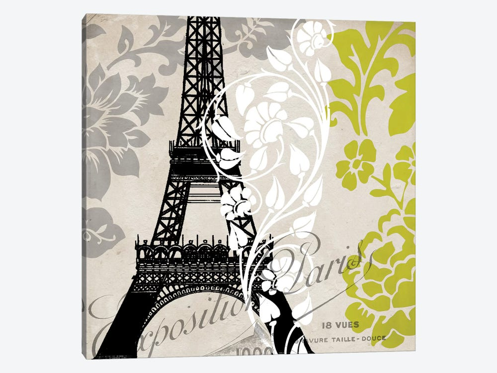 Exposition Paris by Color Bakery 1-piece Canvas Wall Art