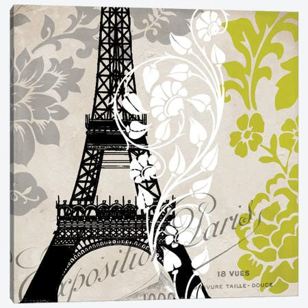 Exposition Paris 3-Piece Canvas #CBY360} by Color Bakery Canvas Art Print