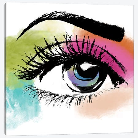 Eyeful Canvas Print #CBY361} by Color Bakery Canvas Print