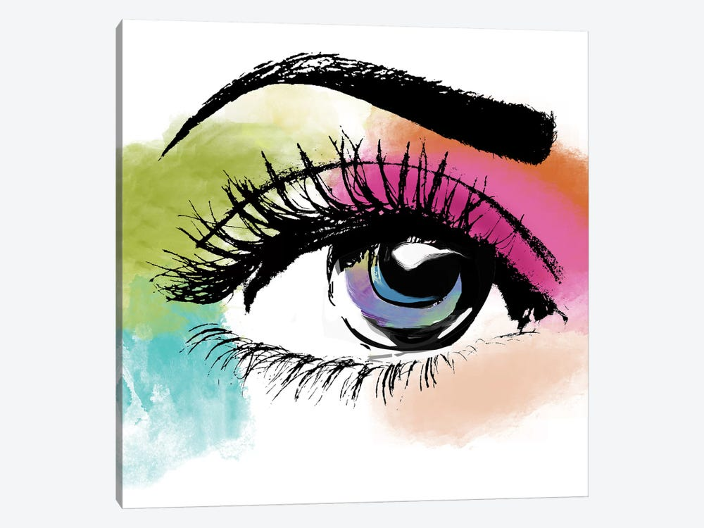 Eyeful by Color Bakery 1-piece Canvas Art Print