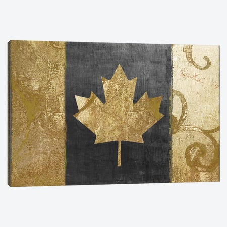 Fashion Flag I Canvas Print #CBY364} by Color Bakery Canvas Art