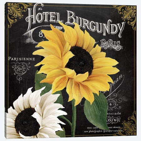 Fleur du Jour III Canvas Print #CBY392} by Color Bakery Canvas Art