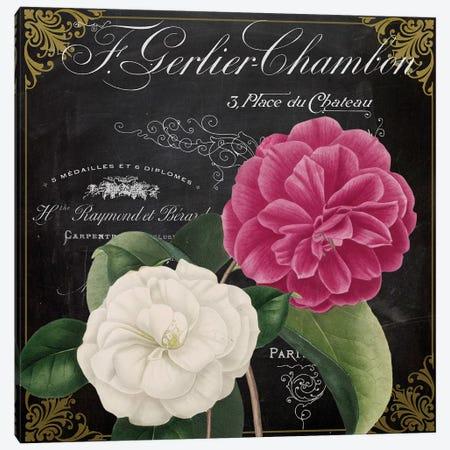 Fleur du Jour IV Canvas Print #CBY393} by Color Bakery Canvas Artwork