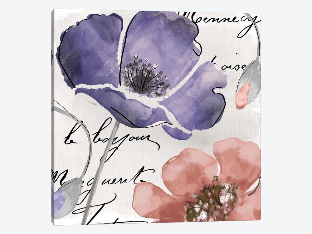 Fleurs de France III by Color Bakery 1-piece Canvas Art