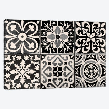 Floor Mat Ceramic Tiles Canvas Print #CBY405} by Color Bakery Art Print