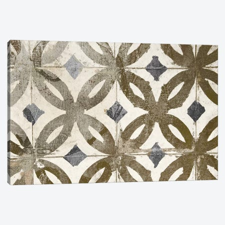 Floor Mat Gold Tile Canvas Print #CBY406} by Color Bakery Canvas Print