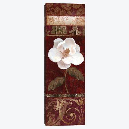 Flores Blancas I Canvas Print #CBY413} by Color Bakery Canvas Art Print