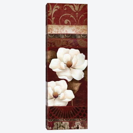 Flores Blancas II Canvas Print #CBY414} by Color Bakery Canvas Artwork