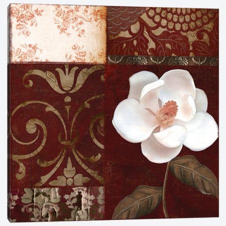 Flores Blancas IV Canvas Print #CBY416} by Color Bakery Canvas Art