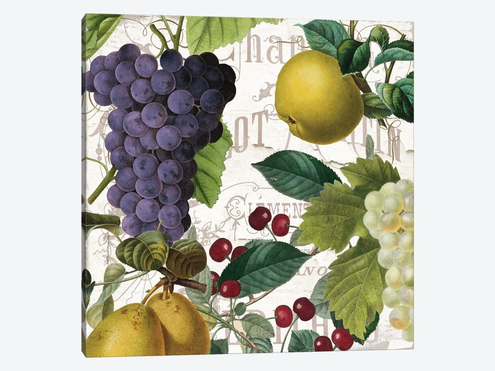 Fruit Bowl I 1-piece Canvas Art