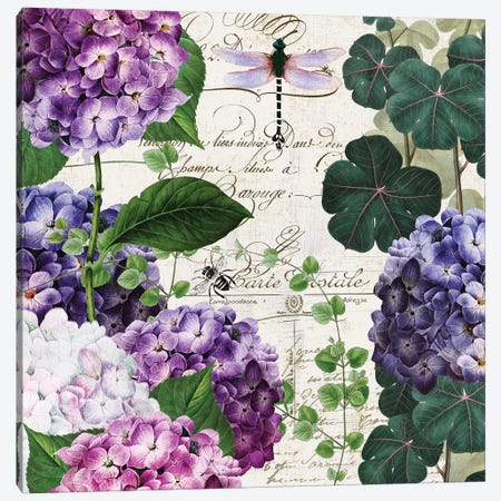 Garden Glow II Canvas Print #CBY438} by Color Bakery Canvas Art Print