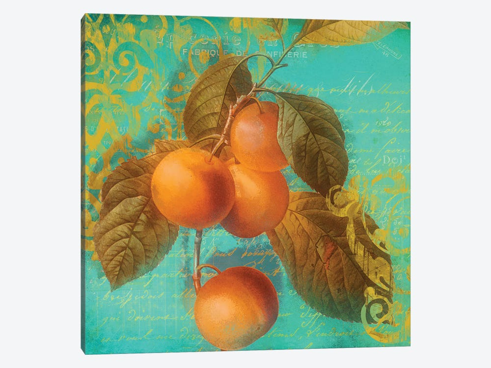 Glowing Fruits I by Color Bakery 1-piece Canvas Art Print