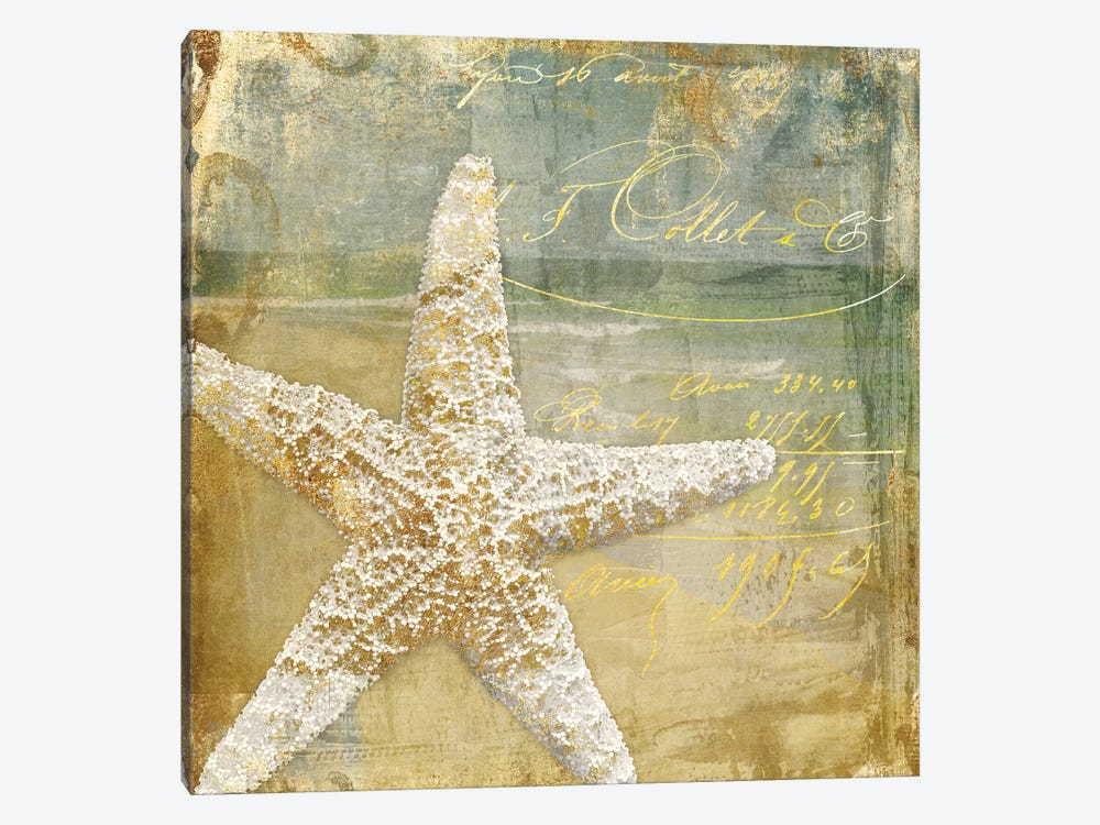 Golden Sea IV by Color Bakery 1-piece Canvas Print
