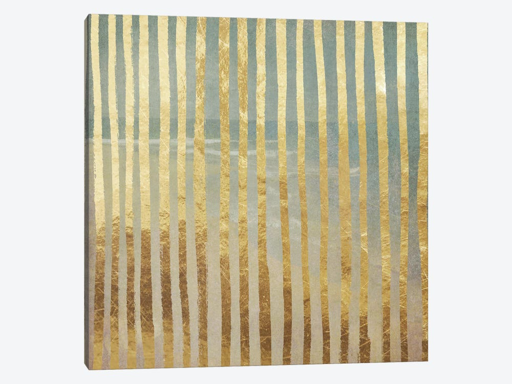 Golden Sea V by Color Bakery 1-piece Canvas Wall Art