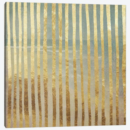Golden Sea V Canvas Print #CBY481} by Color Bakery Canvas Wall Art