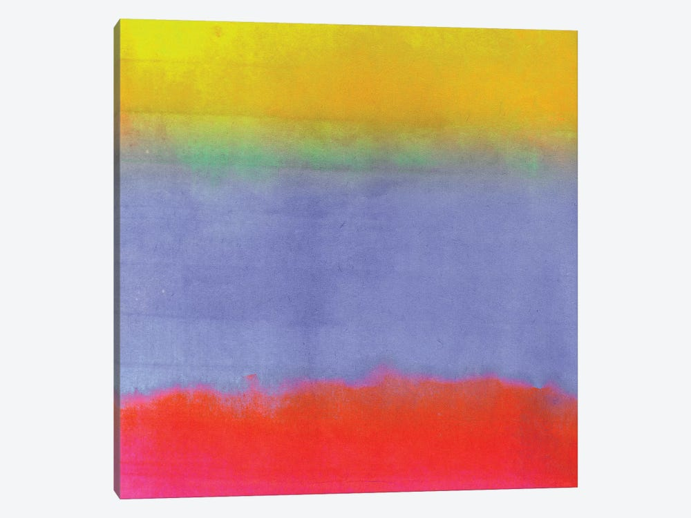 Gradients III by Color Bakery 1-piece Canvas Art Print