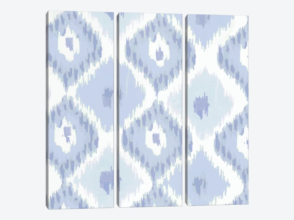 Kasbah Blue II by Color Bakery 3-piece Canvas Artwork