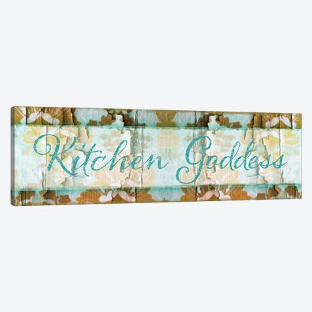 Kitchen Goddess Canvas Print #CBY530} by Color Bakery Canvas Artwork