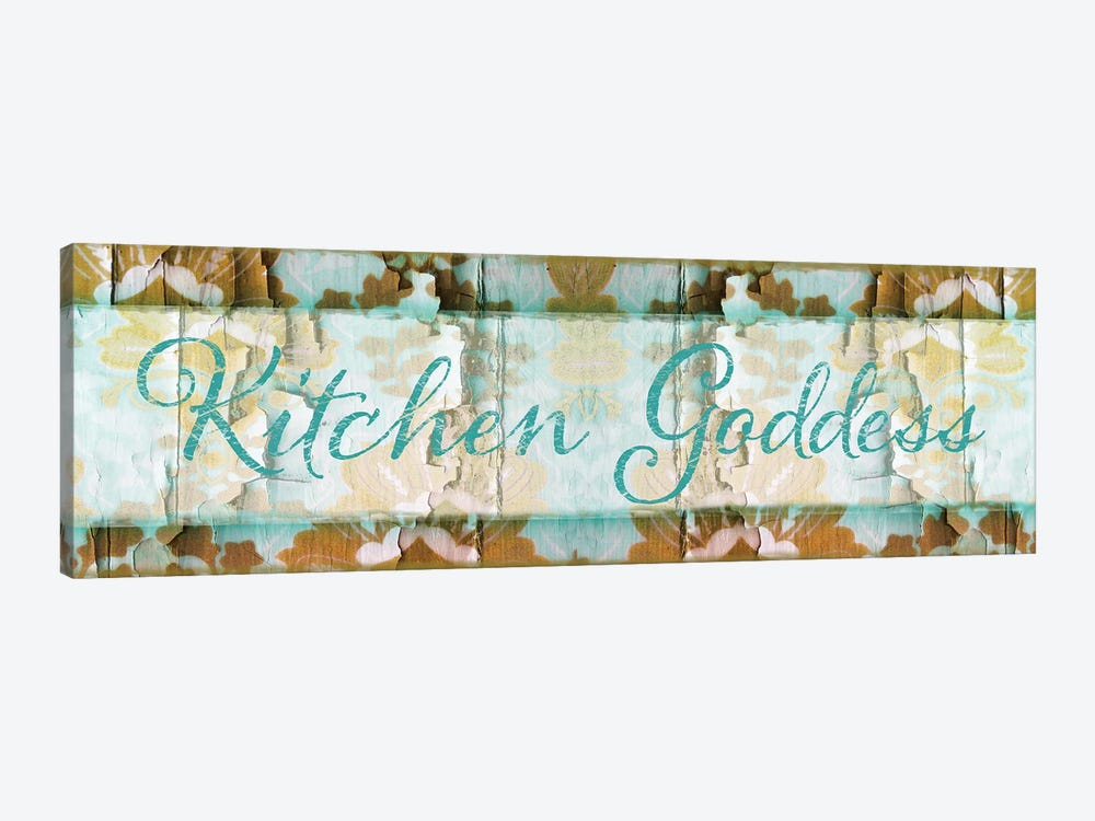 Kitchen Goddess by Color Bakery 1-piece Canvas Art Print