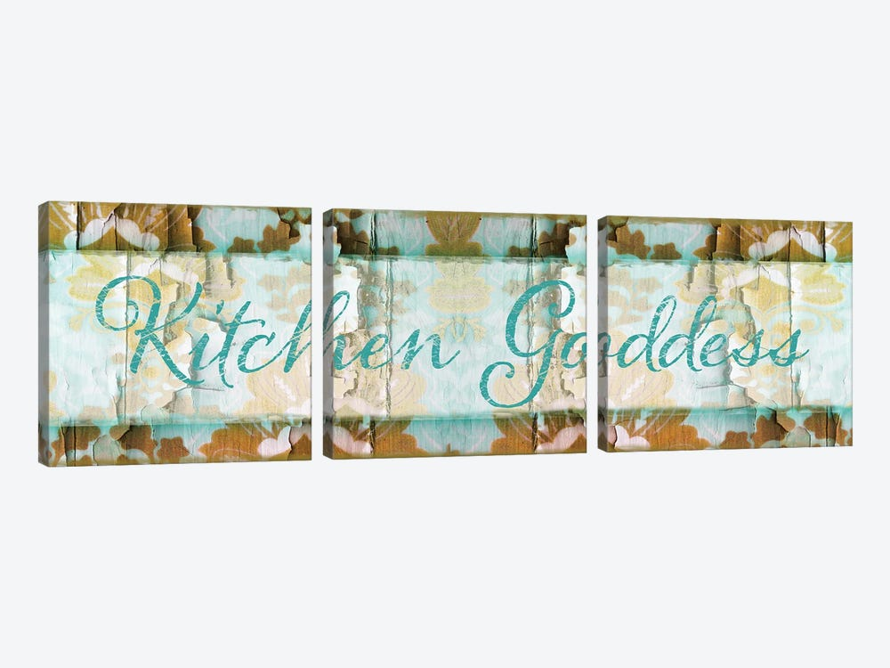 Kitchen Goddess by Color Bakery 3-piece Art Print