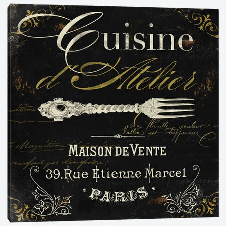 La Cuisine I Canvas Print #CBY532} by Color Bakery Canvas Artwork