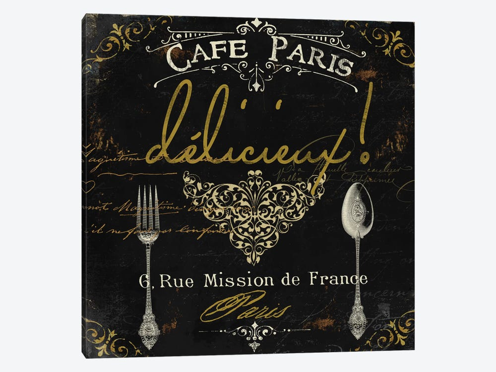 La Cuisine III by Color Bakery 1-piece Canvas Print
