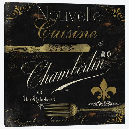 La Cuisine IV Canvas Print #CBY535} by Color Bakery Art Print