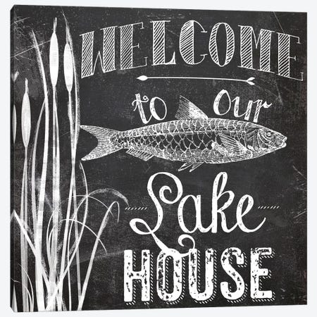 Lake House I Canvas Print #CBY540} by Color Bakery Canvas Art Print