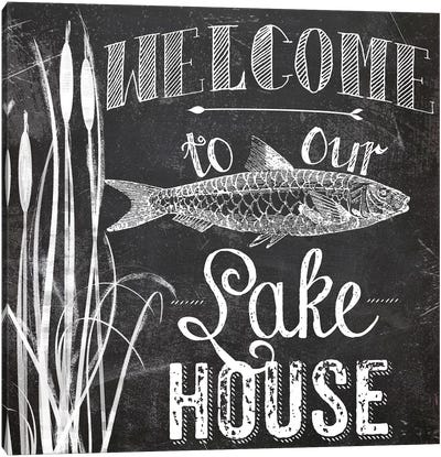 Lake House I Canvas Art Print