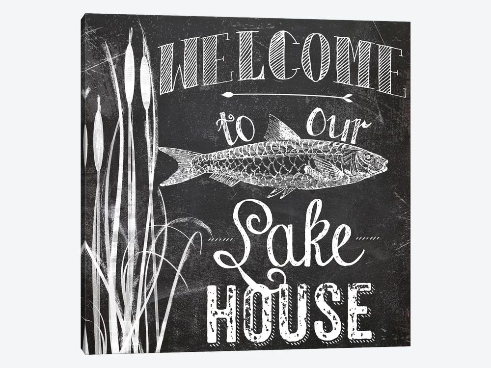 Lake House I by Color Bakery 1-piece Canvas Art