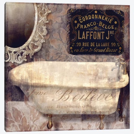 Le Bain Paris I Canvas Print #CBY551} by Color Bakery Canvas Artwork