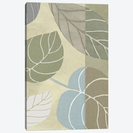 Leaf Story VI Canvas Print #CBY566} by Color Bakery Canvas Art