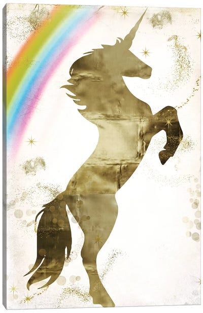 Magic Unicorn I Canvas Art Print