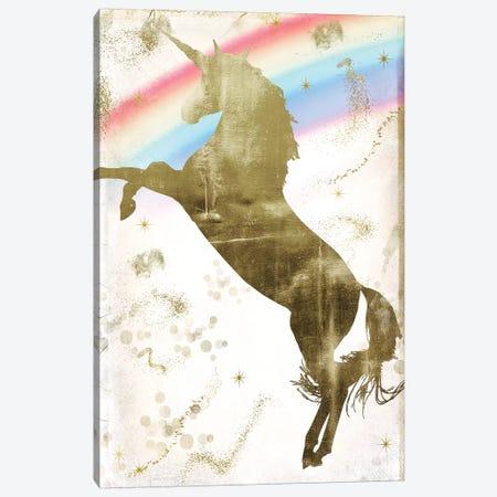 Magic Unicorn II 3-Piece Canvas #CBY588} by Color Bakery Canvas Art Print