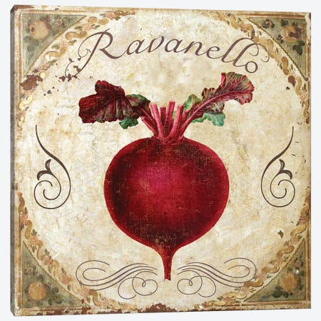 Mangia I Canvas Print #CBY591} by Color Bakery Canvas Art