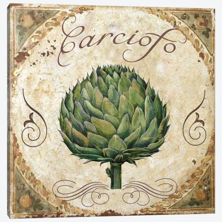 Mangia III Canvas Print #CBY593} by Color Bakery Canvas Art