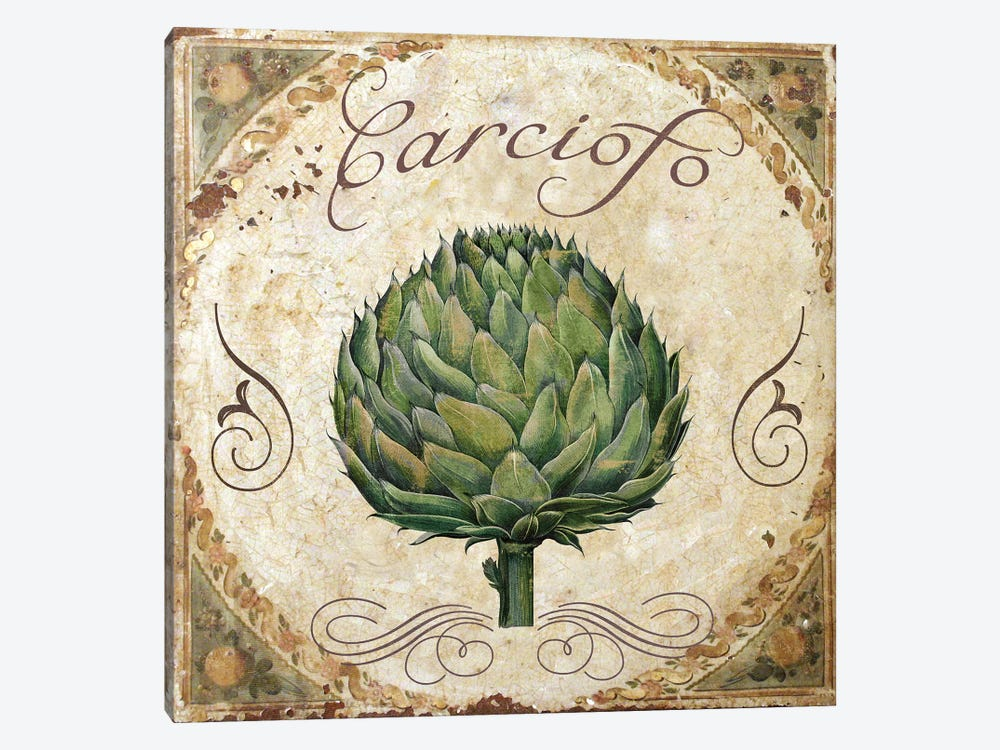 Mangia III by Color Bakery 1-piece Canvas Wall Art