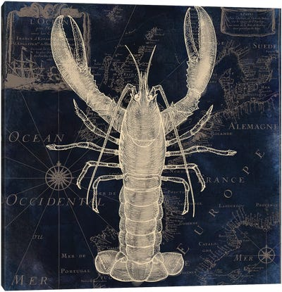 Maritime Blues II Canvas Art Print