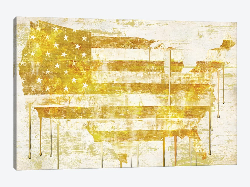 American Dream I by Color Bakery 1-piece Canvas Wall Art