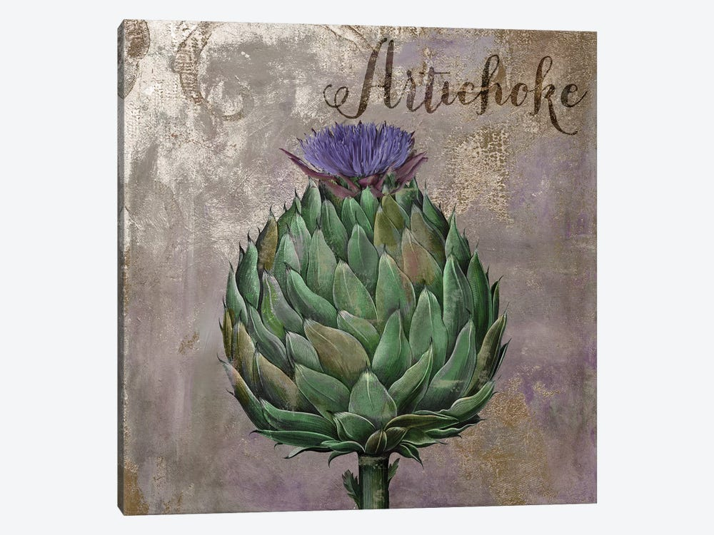 Medley Gold Artichoke by Color Bakery 1-piece Canvas Art
