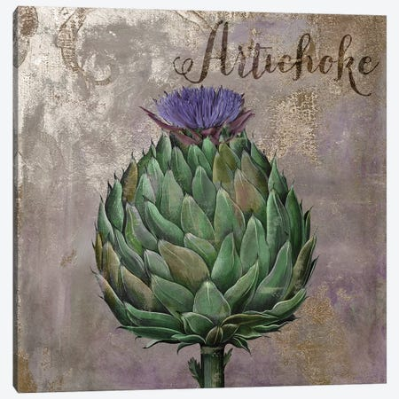 Medley Gold Artichoke Canvas Print #CBY604} by Color Bakery Canvas Print