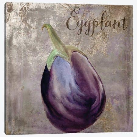 Medley Gold Eggplant Canvas Print #CBY605} by Color Bakery Canvas Art Print