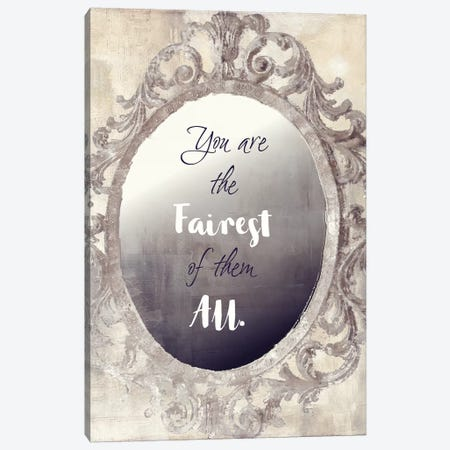 Mirror Mirror Canvas Print #CBY621} by Color Bakery Canvas Wall Art