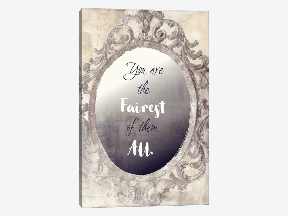 Mirror Mirror by Color Bakery 1-piece Canvas Art Print