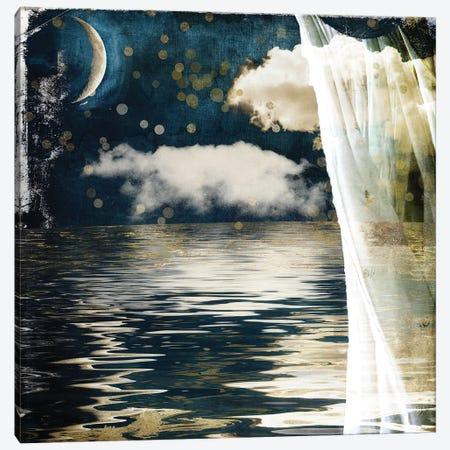 Moon Lullabye Canvas Print #CBY630} by Color Bakery Canvas Art Print