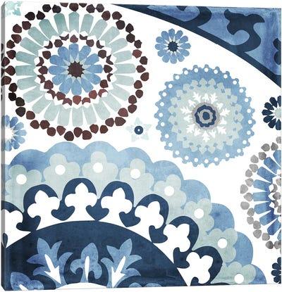 Moroccan Blues I Canvas Art Print