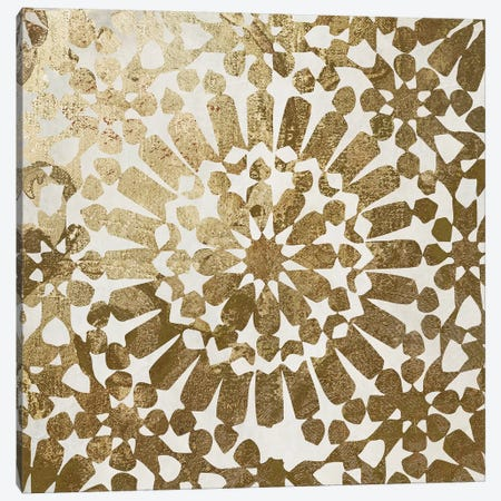 Moroccan Gold I Canvas Print #CBY644} by Color Bakery Canvas Art Print