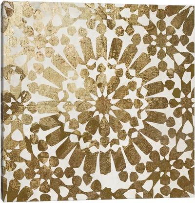 Moroccan Gold I Canvas Art Print