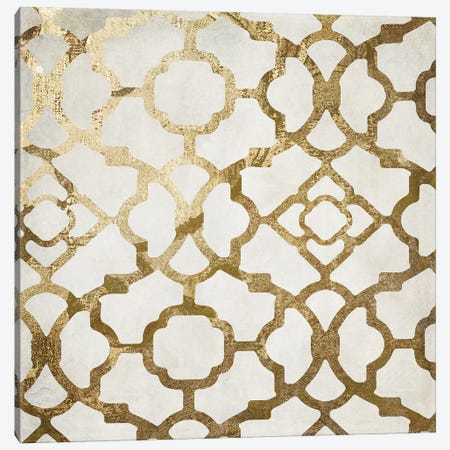 Moroccan Gold II Canvas Print #CBY645} by Color Bakery Canvas Print